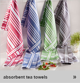 absorbent tea towels